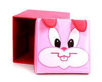 """Детский пуф 3 в 1 (корзина, ящик для игрушек) """"Кролик"""" 40*40*40 см"""