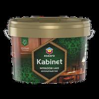 Лак Kabinet 20 Eskaro – Водоразбавимый полуматовый лак дерева (мебельный лак) 9л