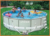 Каркасный бассейн с полным комплектом 28326 (54470), размер 488*122 см