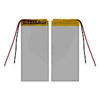 Батарея (АКБ, аккумулятор) для китайских планшетов/телефонов, универсальный, 850 mAh, 35х78х3,0 мм