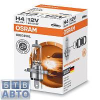 Автолампа Osram H4 12V 60/55W P43T / ORIGINAL LINE
