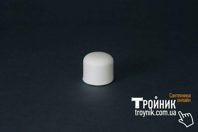 Заглушка для ппр 25 Tebo белая
