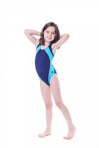 Купальник детский закрытый Shepa 009 (original) цельный, сдельный, слитный для девочки для бассейна