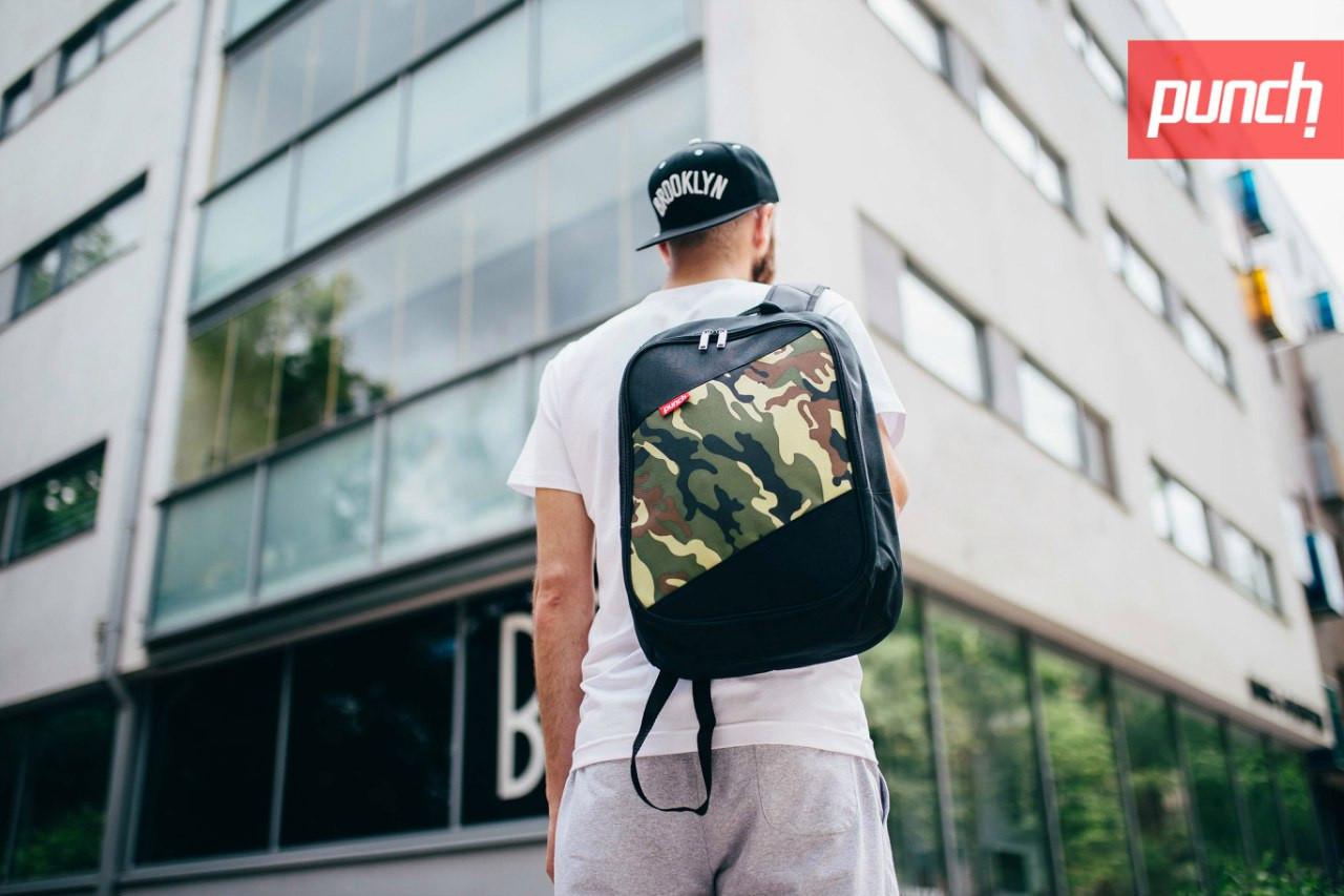Рюкзак Punch каммуфляж, фото 1