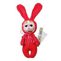 """*Мягкая игрушка """"Экзокот на пижамной вечеринке"""" арт. 016"""