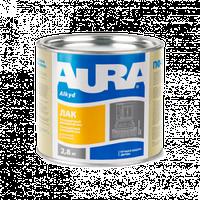 Aura ЛАК Паркетный – Полуматовый Алкидно-уретановый лак 0,8кг