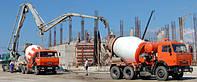 Доставка бетона миксерами по Харькову с завода