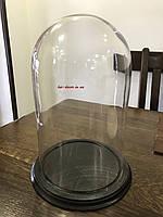 Колпак-купол стеклянный  с доской 180*300мм