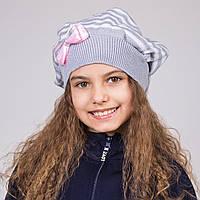 Модная шапка-берет для девочек весна 2017 - Артикул 1719