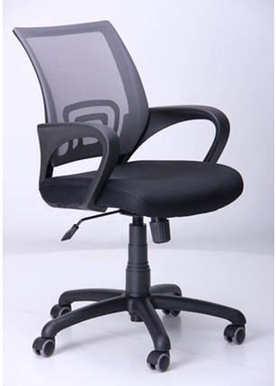 Кресло Веб сиденье Сетка чёрная/спинка Сетка серый, фото 2