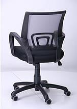 Кресло Веб сиденье Сетка чёрная/спинка Сетка серый, фото 3