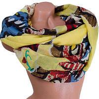 Женский хлопковый шарф 184 на 86 см  eterno (ЭТЕРНО) es0908-2-1-y