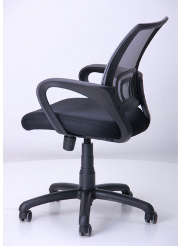 Кресло Веб сиденье Сетка черная/спинка серая (Фото 6)
