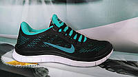 Женские кроссовки Nike Free Run 3.0 Black/Mint