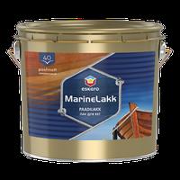 Marine lakk 40 Eskaro – Полуматовый Уретан-алкидный лак для яхт 0,95л. Яхтный лак