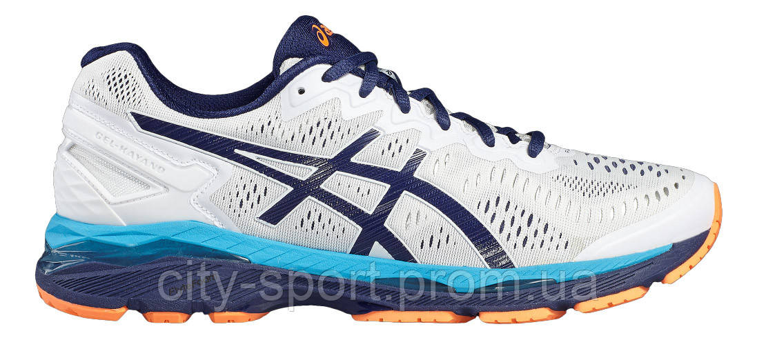 28351884 Кроссовки Asics Бег GEL-KAYANO 23 арт.T646N-0149 WHT/BLU/ORNG, цена ...