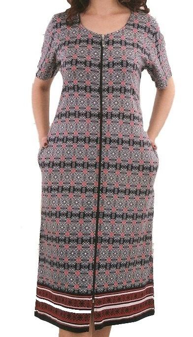 Купить Женский халат летний 50-56 в интернет магазине