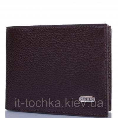 Мужской кожаный кошелек canpellini (КАНПЕЛЛИНИ) shi1105-14