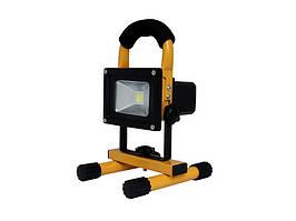 LED прожектор переносной LEDMAX 10W 7000К FLOOD10A