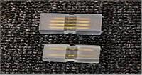 Коннектор для LED лент 220В Biom 5050 RGB 2разъема + 4pin (2шт.)