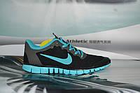 Женские кроссовки Nike Free Run 3.0 Gray/Mint