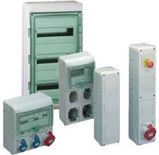 Система кропусов щитов(шкафов) Kaedra, Mini Kaedra от Schneider Electric для модульных устройств