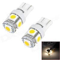 Автомобильная светодиодная лампа диод микро T10-5SMD-5050-12V (производство Китай)