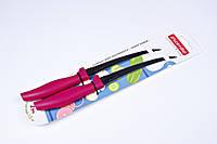 """Ножи """"Kamille"""",ножи с зубчиками,набор 2 шт,24 см,KM-5311"""