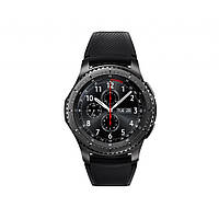 Смарт-часы Samsung SM-R760 (Gear S3 Frontier) Dark Grey (SM-R760NDAASEK)