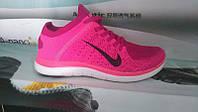 Женские кроссовки Nike Free Run 4.0 Flyknit Pink