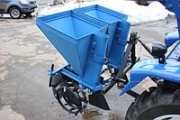 Картофелесажалка 2-х рядная (тракторная с квадратным бункером + 3-х точечное прицепное)