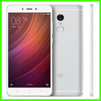 Смартфон Xiaomi redmi note 4 - 3/32 GB, 5/13 MP, проц. 10 ядер, 2.1 Ггц (SILVER). Гарантия в Украине!