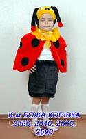 Аренда прокат карнавальный костюм детский Божья коровка