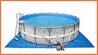 Каркасный бассейн+насос-фильтр 549*132 см, арт. 28332
