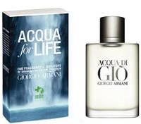 Мужской парфюм Armani Acqua Di Gio Aqua For Life Edition Pour Homme 100 мл