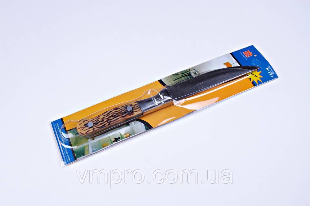 """Ніж кухонний """"Хортиця"""",4"""",ніж універсальний,19.5 см,кістяна ручка"""