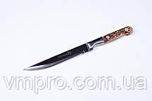 """Нож кухонный """"Хортиця"""",5"""",нож универсальный,22.5 см,костяная ручка"""