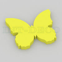 Бабочка желтая / 30 см