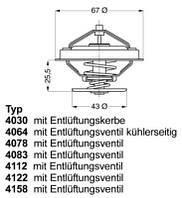 Термостат MERCEDES W124,W201 M102;SSANGYONG KYRON 3.2 1102000515