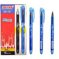 Ручка гелевая GP-191 JOYKO 12 штук, синяя