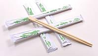 Палочки для суши бамбуковые в индивидуальной упаковке, 21см,100 шт/уп.