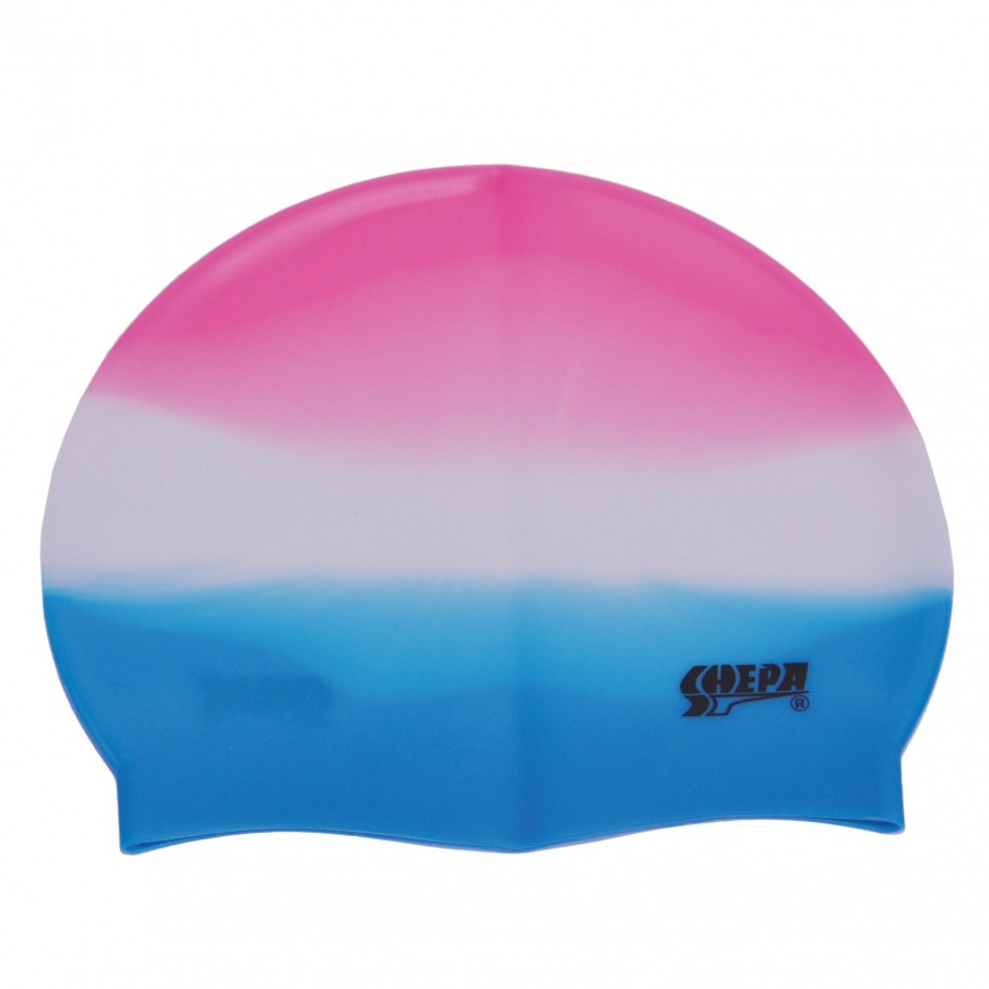 Шапочка для плавания Shepa (original) для бассейна, силикон, взрослая/детская