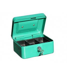Металлическая коробка - кэшбокс TS 0038