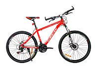 """Горный велосипед OSKAR 26"""" Plus 500 16011 красный Алюминий Гарантия 12 мес."""