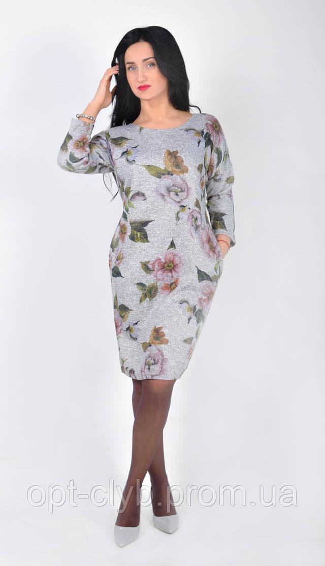 Женские платья акварель