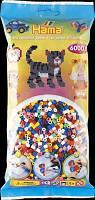 Термомозаика HAMA Набор цветных бусин, 6.000 шт., 10 цветов, Midi 5+