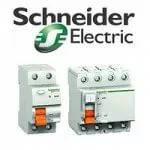 Автоматические выключатели, Дифференционные автоматы, УЗО серии EAZY9 Schneider electric