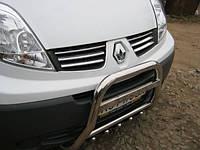 Защитная дуга, кенгурятник высокий на Renault Trafic