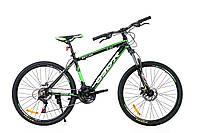 """Горный велосипед OSKAR 26""""  X Baturo 1613 черно-зеленый Алюминий Гарантия 12 мес."""