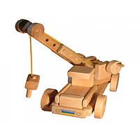 Эко-конструктор Автокран деревянный